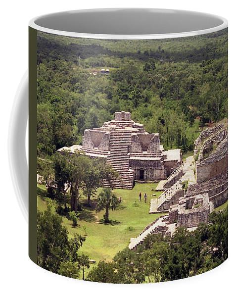 Mayan Coffee Mug featuring the photograph Chichen Itza by Michael Peychich