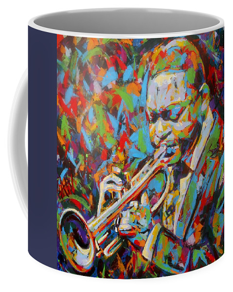 Art Coffee Mug featuring the painting Chillin' by Angie Wright