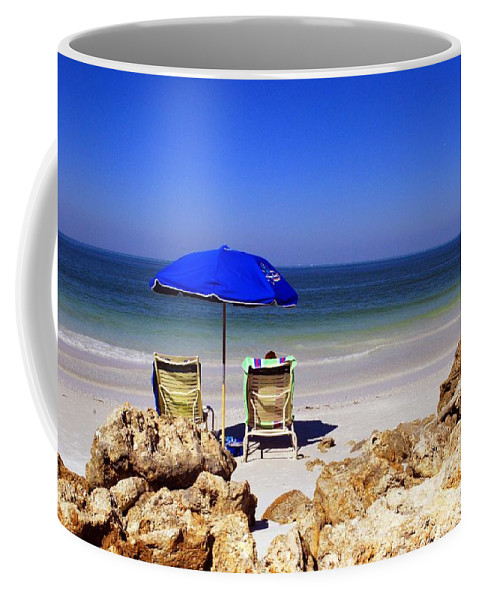 Beach Coffee Mug featuring the photograph Chillin' Out by Gary Wonning
