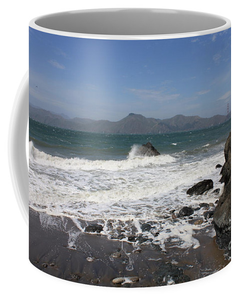 Coffee Mug featuring the photograph China Beach by Carol Groenen