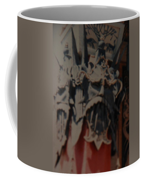 Grumanns Chinese Theater Coffee Mug featuring the photograph Chinese Masks by Rob Hans