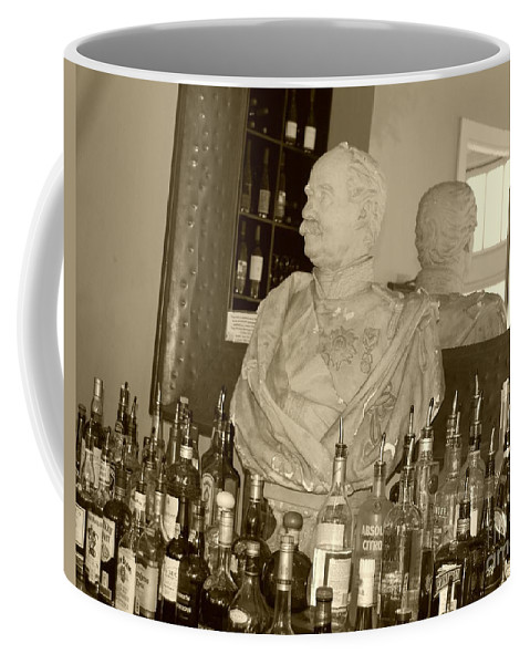 Bust Coffee Mug featuring the photograph Chipped Reflection by Debbi Granruth