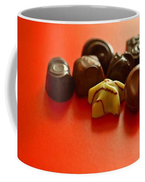 Still Life Coffee Mug featuring the photograph Chocolate Delight by Evelina Kremsdorf