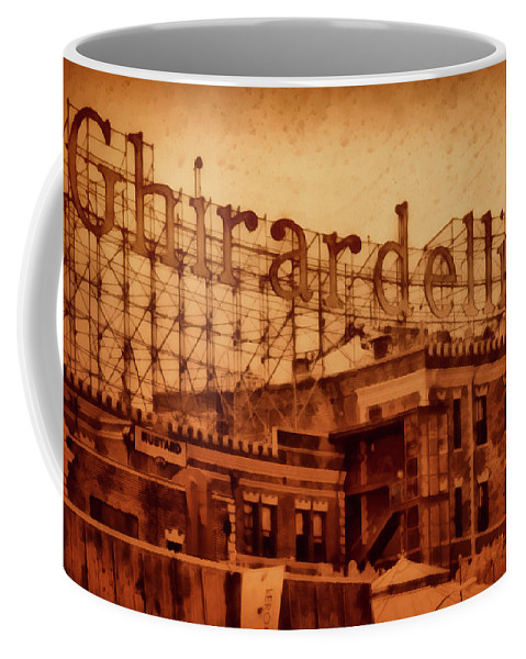 Chocolate Coffee Mug featuring the mixed media Chocolate On Chocolate by Joseph Hollingsworth