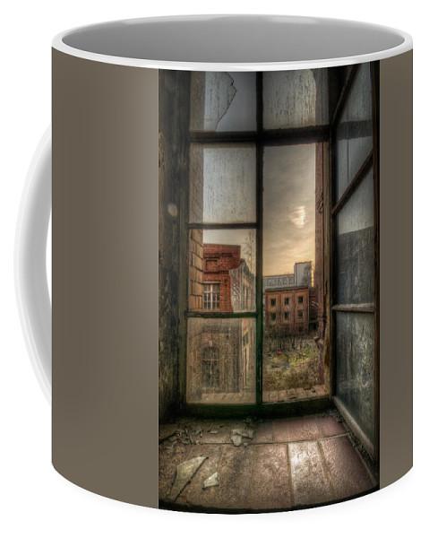Urebx Coffee Mug featuring the digital art Chocolate Sunset by Nathan Wright