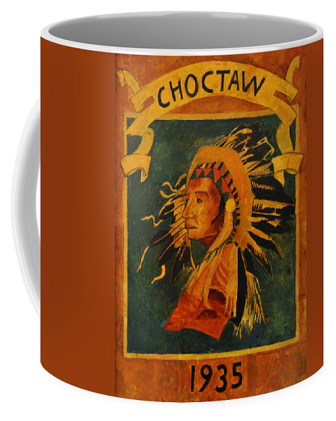 Choctaw 1935 Coffee Mug featuring the photograph Choctaw 1935 by Bill Cannon