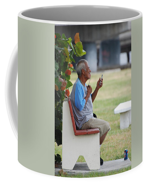 Homeless Coffee Mug featuring the photograph Choice Of A New Generation by Rob Hans