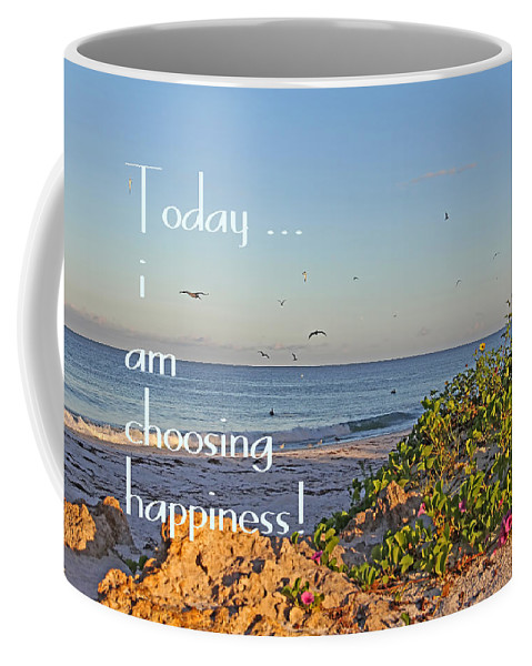 Florida Beaches Coffee Mug featuring the photograph Choices - Inspirational by HH Photography of Florida