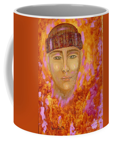 Portrait Coffee Mug featuring the painting Choices by Laurie Morgan