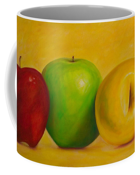Still Life Coffee Mug featuring the painting Chorus Line by Shannon Grissom