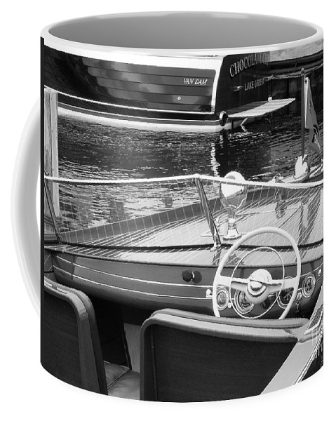 Chris Craft Coffee Mug featuring the photograph Chris Craft Utility by Neil Zimmerman