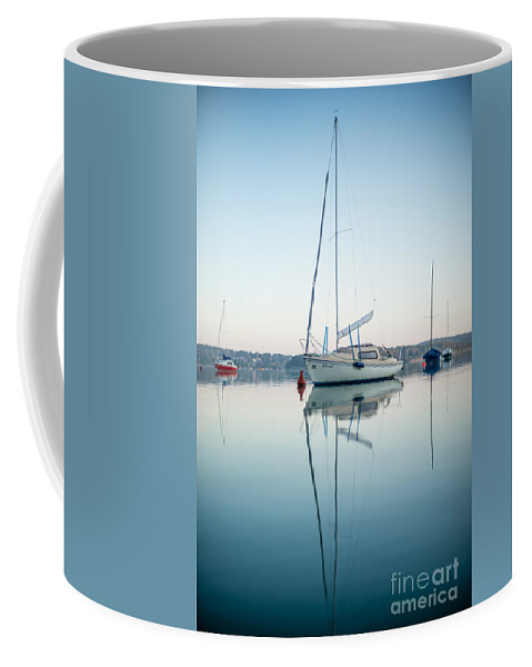 W�rthsee Coffee Mug featuring the photograph Christl 3.5 by Hannes Cmarits