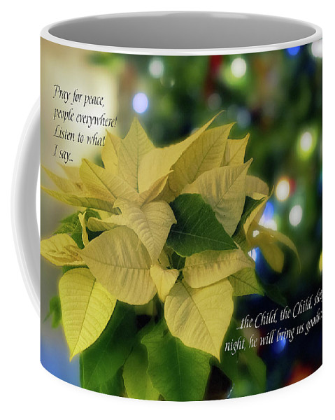 Christmas Coffee Mug featuring the digital art Christmas 3 by Terry Davis