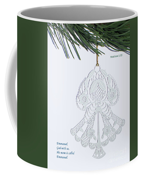 Christmas Coffee Mug featuring the photograph Christmas Angel by Ann Horn