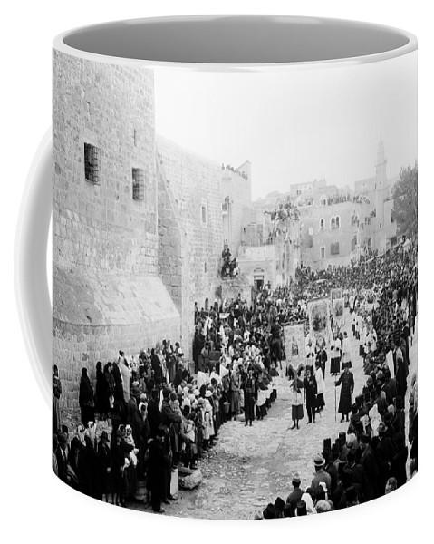 Christmas Coffee Mug featuring the photograph Christmas Celebration 1900s by Munir Alawi