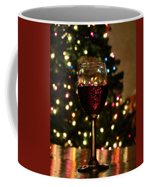 Christmas Coffee Mug featuring the photograph Christmas Cheer by Elizabeth Harshman