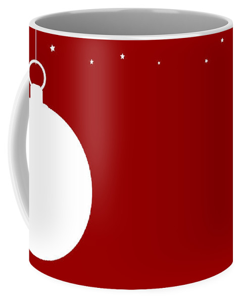 Christmas Coffee Mug featuring the digital art Christmas Copy Space by Bigalbaloo Stock