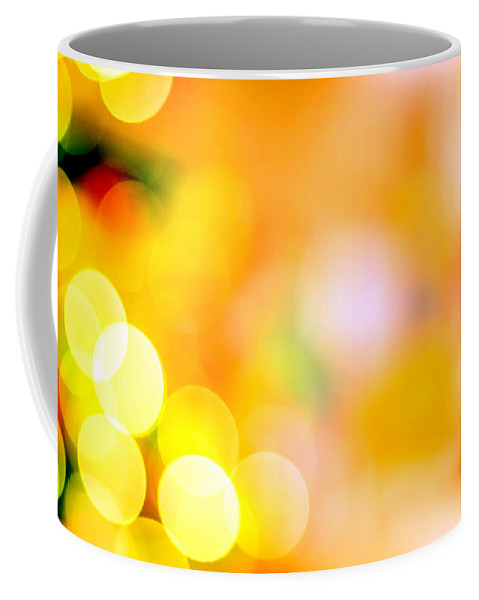 Christmas Coffee Mug featuring the photograph Christmas Decorations 2 by Jijo George