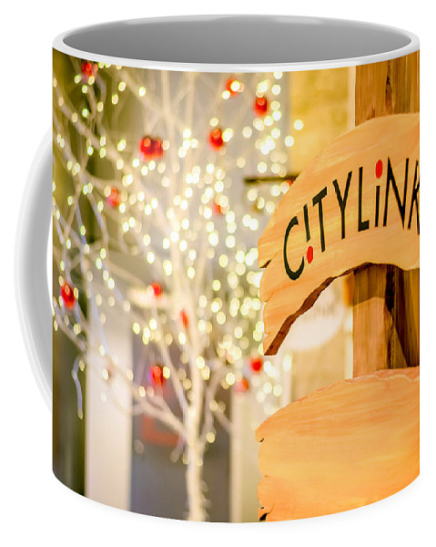 Christmas Coffee Mug featuring the photograph Christmas Decorations 4 by Jijo George