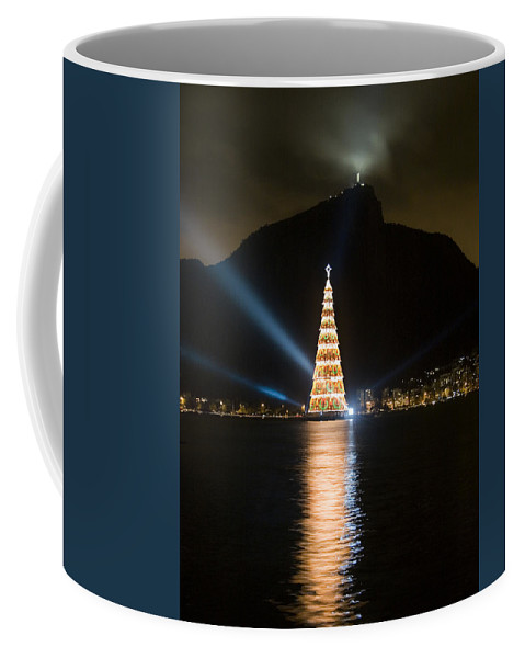Landscape Coffee Mug featuring the photograph Christmas In Rio by Sergio Bondioni