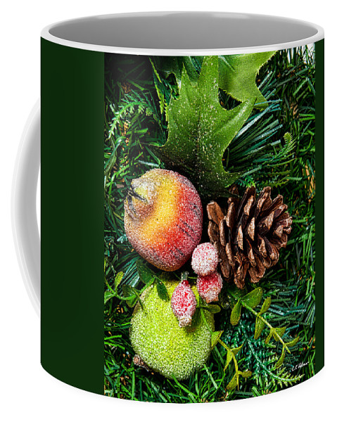 Christmas Coffee Mug featuring the photograph Christmas Ornaments II by Christopher Holmes