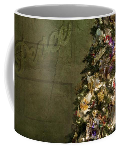 Tree Coffee Mug featuring the photograph Christmas Peace by Eric Chegwin