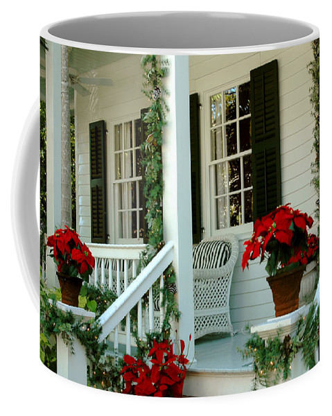 Christmas In Key West Coffee Mug featuring the photograph Christmas Spirit In Key West by Susanne Van Hulst