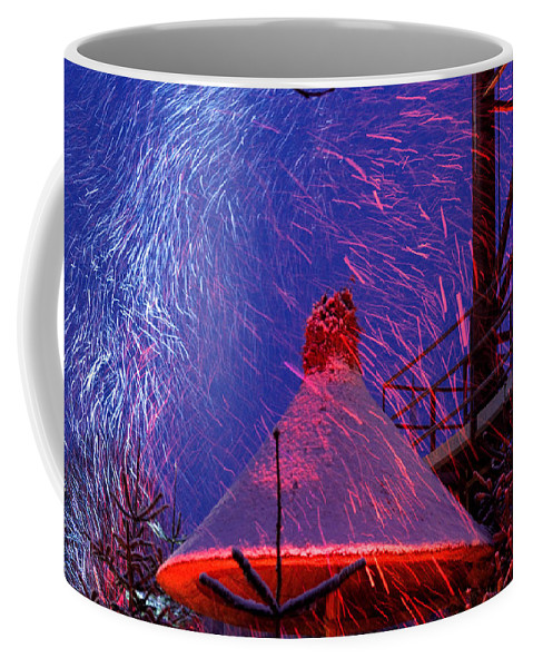 Christmas Coffee Mug featuring the photograph Christmas Time In Tivoli Gardens by Keenpress