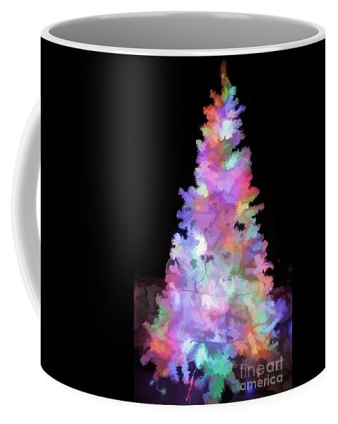 Christmas Coffee Mug featuring the photograph Christmas Tree by D Hackett