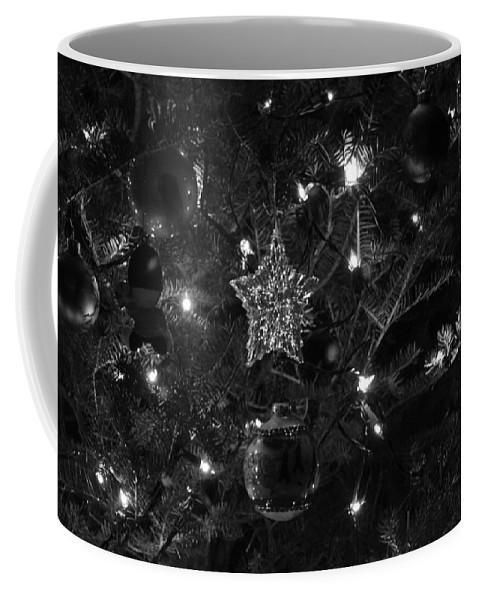 Christmas Coffee Mug featuring the photograph Christmas Tree Decorations by Lauri Novak