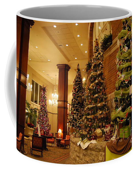 Christmas Coffee Mug featuring the photograph Christmas Tree by Eric Liller