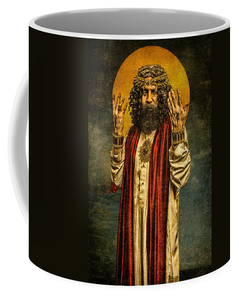 Icon Coffee Mug featuring the photograph Christus Resurrexit by Chris Lord
