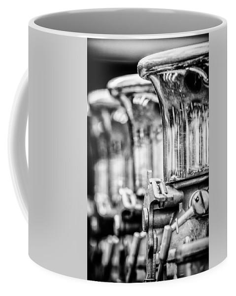 Muroc Coffee Mug featuring the photograph Chromed Up by Scott Wyatt