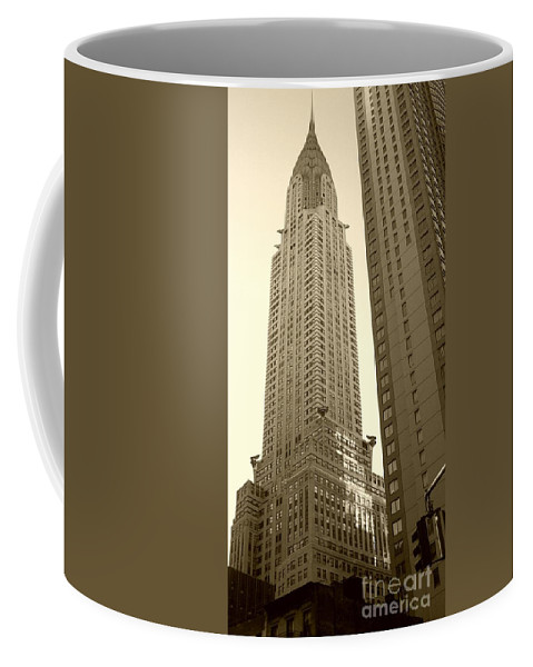 New York Coffee Mug featuring the photograph Chrysler Building by Debbi Granruth
