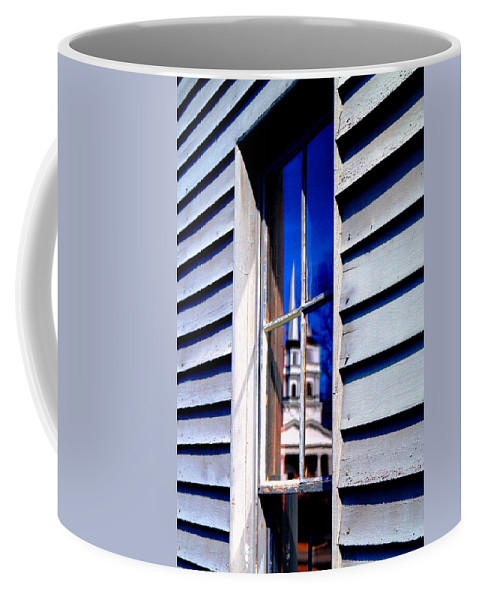 Coffee Mug featuring the photograph Church And State by Daniel Thompson