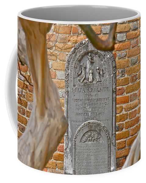 Cemetery Coffee Mug featuring the photograph Church Cemetery by E Robert Dee