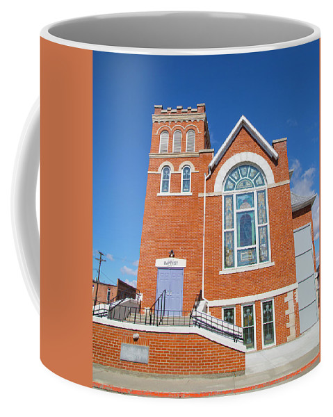 Church Coffee Mug featuring the photograph Church in Emmett Idaho by Dart and Suze Humeston