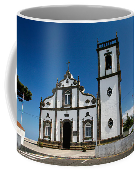 Sao Miguel Coffee Mug featuring the photograph Church In The Azores by Gaspar Avila