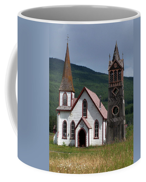 Church Coffee Mug featuring the photograph Church by Marty Koch
