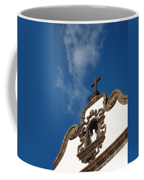 Architecture Coffee Mug featuring the photograph Church Tower by Gaspar Avila