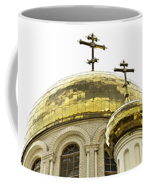 Architecture Coffee Mug featuring the photograph Church1 by Svetlana Sewell