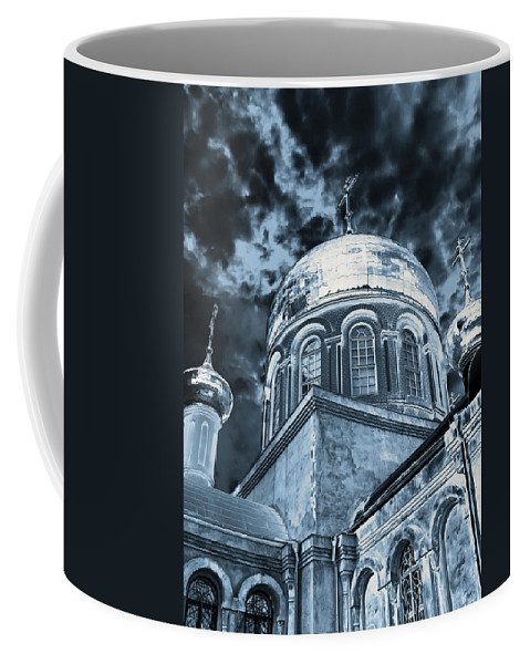 Architecture Coffee Mug featuring the photograph Church2 by Svetlana Sewell