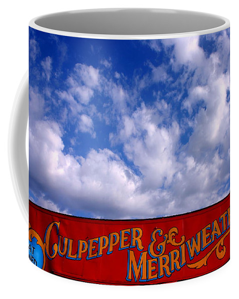 Circus Coffee Mug featuring the photograph Circus Day by Toni Hopper