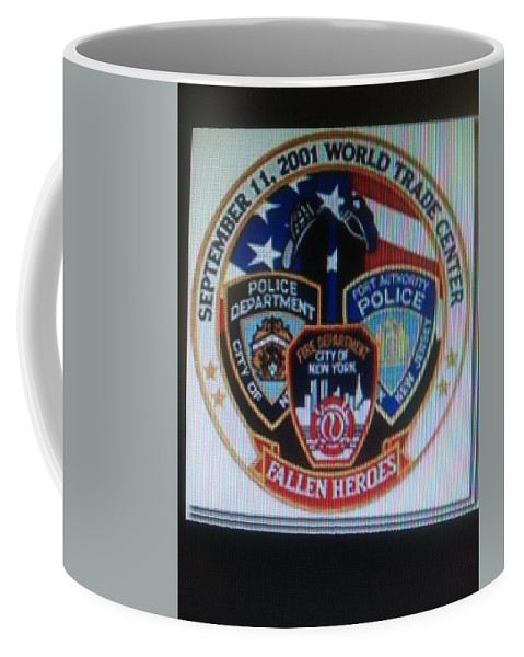Coffee Mug featuring the photograph Citadel Three by Ronald Carlino