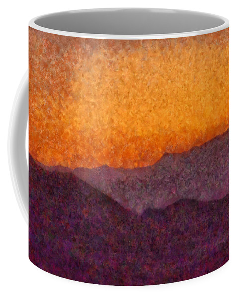 Savad Coffee Mug featuring the photograph City - Arizona - Rolling Hills by Mike Savad
