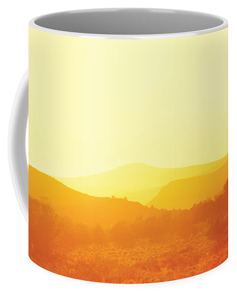 Savad Coffee Mug featuring the photograph City - Arizona - Sunset Over Nevada by Mike Savad