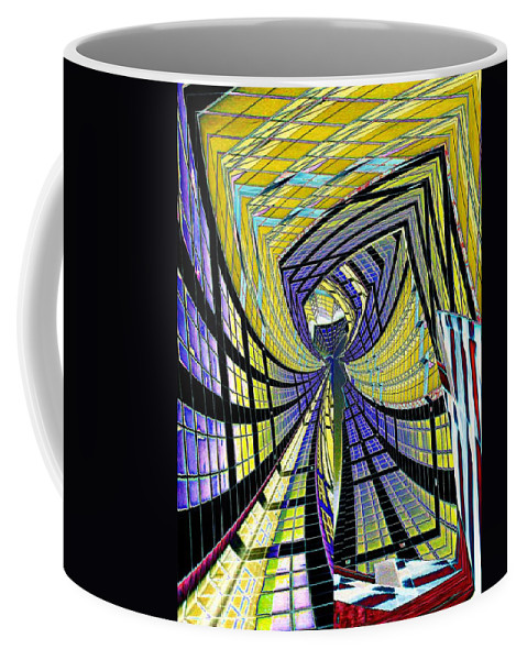 City Coffee Mug featuring the photograph City Center by Tim Allen