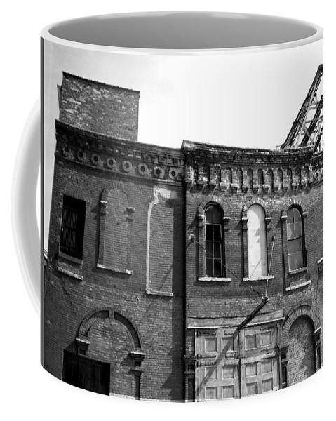 Milwaukee Coffee Mug featuring the photograph City Decay 1 by Anita Burgermeister