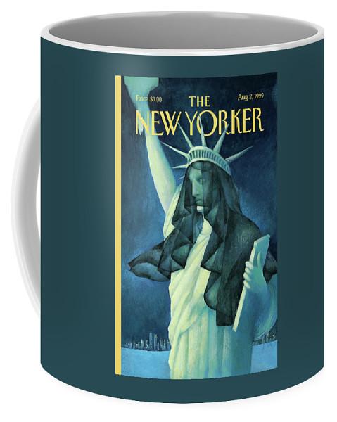 City In Mourning Coffee Mug