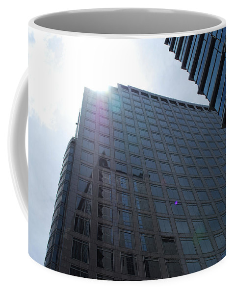 City Coffee Mug featuring the photograph City Sky by Sherri Johnson